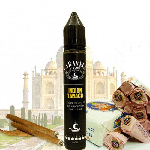 Líquido Caravela - Indian Tabaco