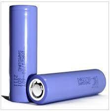 Bateria 40T 21700 Li-Ion 5C 3.7V 4000mAh High Drain 30A Flat Top - Samsung