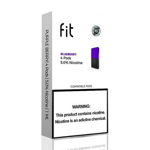 Fit Blueberry compatível JUUL