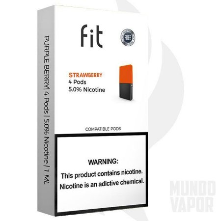 Fit Strawberry compatível JUUL