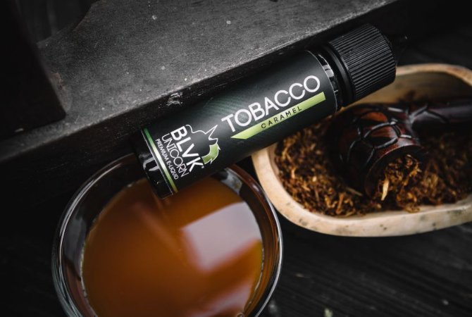 Líquido BLVK UNICORN - Tobacco Caramel