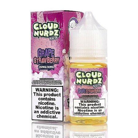 Líquido Cloud Nurdz Salt - Grape Strawberry