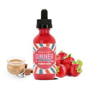 Líquido Dinner Lady - Strawberry Custard