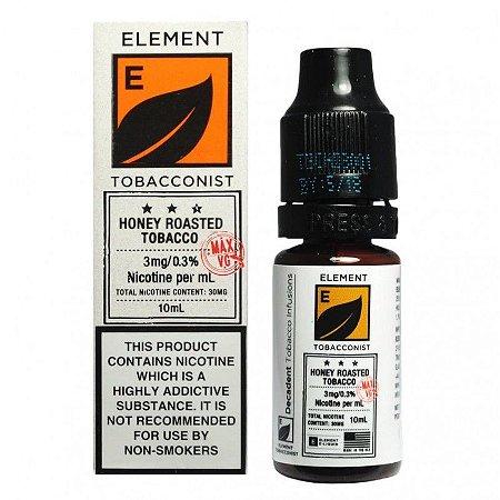 Líquido Element Salt - Honey Roasted Tobacco