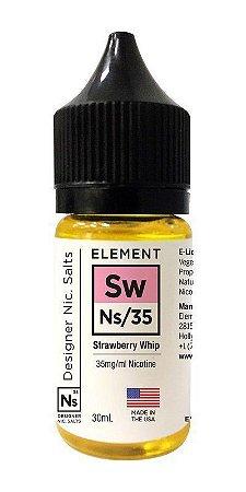 Líquido Element Salt Nicotine - Strawberry Whip