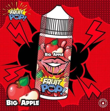 Líquido Fruit POP! - Big apple