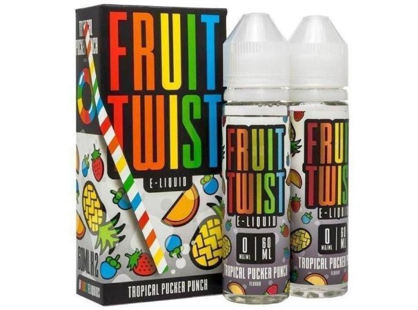 Líquido Fruit Twist - Tropical Pucker Punch