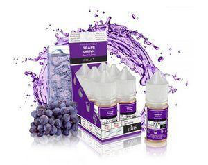 Líquido GLAS salt nicotine - Grape Drink