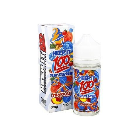Líquido Keep It 100  - Blue Slushie Tropical