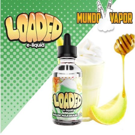 Líquido Loaded - Melon Milkshake