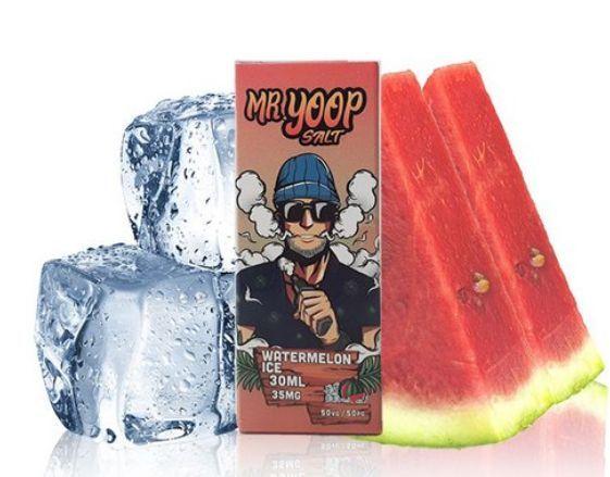 Líquido Yoop Vapor Salt - Mr. Yoop - Watermelon Ice