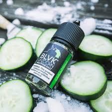 Líquido Nic Salt BLVK Unicorn Salt Nicotine - Cucumber