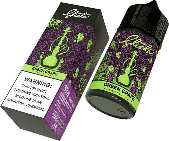 Líquido Nic Salt Nasty SHISHA - Salt nicotine - Green Grape