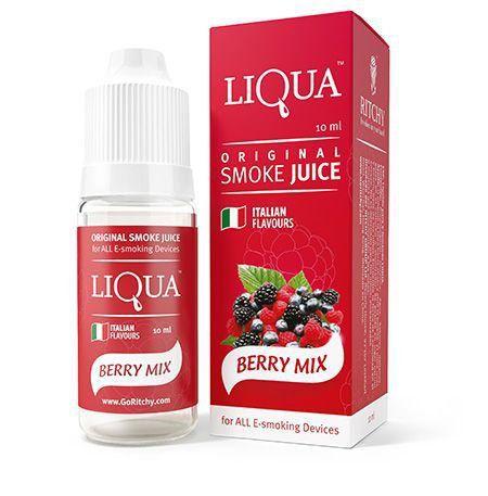 Liquido para cigarro eletrônico liQua -  Berry Mix (mix de frutas vermelhas)