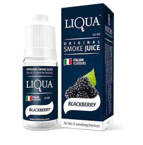 Liquido para cigarro eletrônico LiQua - BlackBerry (amora)