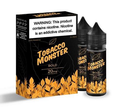 Líquido Salt Nicotine - BOLD - Tobacco Monster