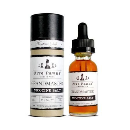 Líquido Salt Nicotine - Five Pawns - Grandmaster