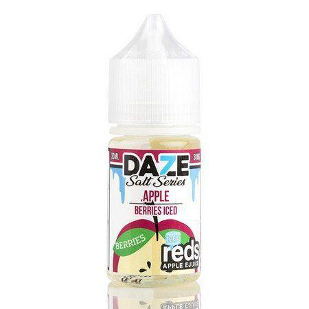 Líquido Salt nicotine 7 Daze Reds Apple E-juice - Apple Berries Iced