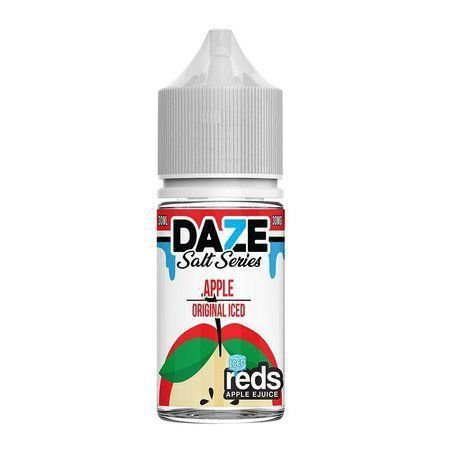 Líquido Salt nicotine 7 Daze Reds Apple E-juice - Apple Original Iced