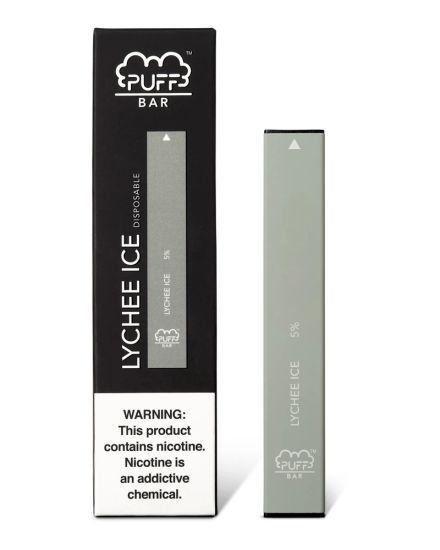 Pod descartável Puff Bar - 300 Puffs - Lychee Ice