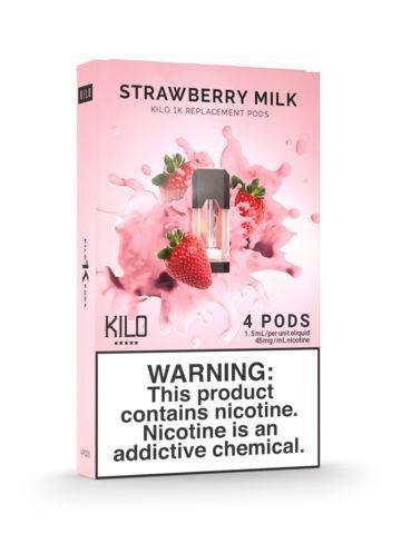 POD Descartável Strawberry Milk - Kilo