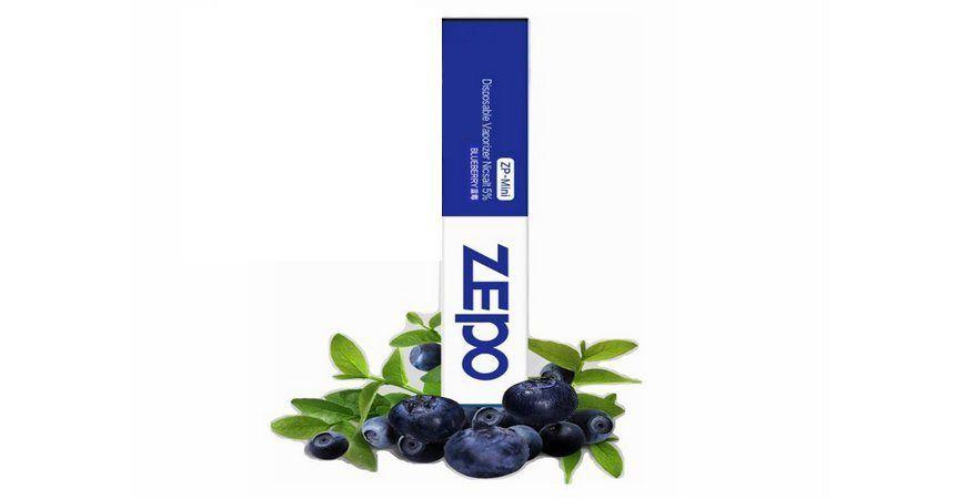Pod descartável Zepo - 250 Puffs - ZP Mini - Blueberry