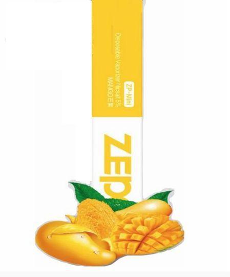 Pod descartável Zepo - 250 Puffs - ZP Mini - Mango