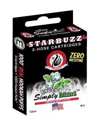 Refil Starbuzz E-Hose - Exotic Simply Mint