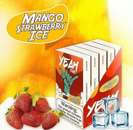 Yeah Pods Mango Strawberry ICE - Compatíveis com JUUL - YEAH