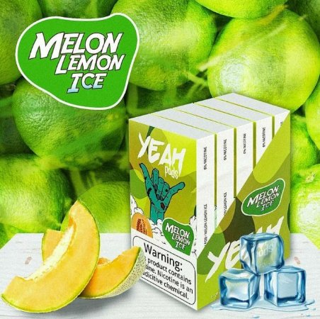 Yeah Pods De Reposição Melon Lemon Ice - Compatíveis com Juul - Yeah