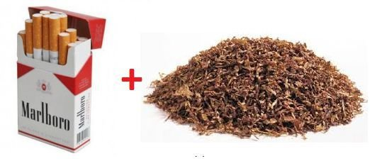 Promoção LiQua - 1 Marlboro 30ml 18mg + 1 Tobacco French Pipe 30ml 18mg