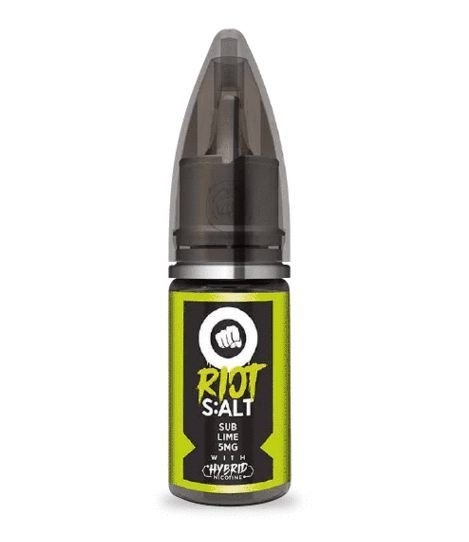 Líquido Riot Nic Salt - Sub Lime