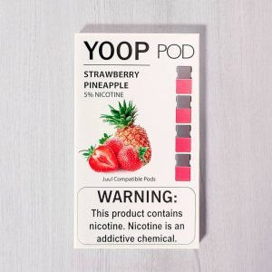 Yoop Pods Pineapple Strawberry- Compatíveis com JUUL - Yoop