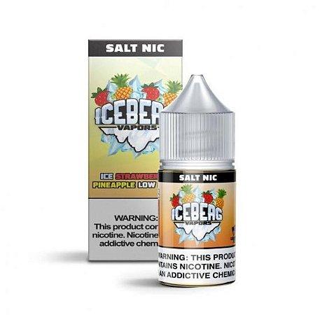 Líquido  Iceberg Vapors Salt - Ice Strawberry Pineapple Low Mint