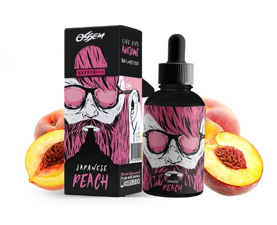 Líquido Ossem Juice Salt -  Fruity Series - Jananese Peach