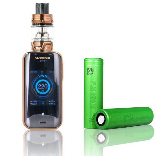 COMBO VAPE - 1 Kit Luxe  220w  + 2 baterias 18650