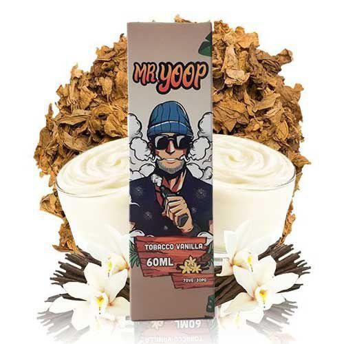 Líquido Mr. Yoop Salt - Tobacco Vanilla