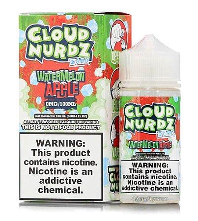 Líquido Cloud Nurdz - Watermelon Apple Iced