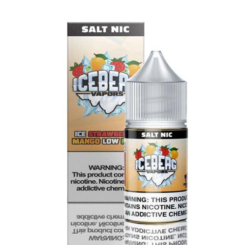 Líquido Iceberg Vapors Salt -  Ice Strawberry Mango Low Mint