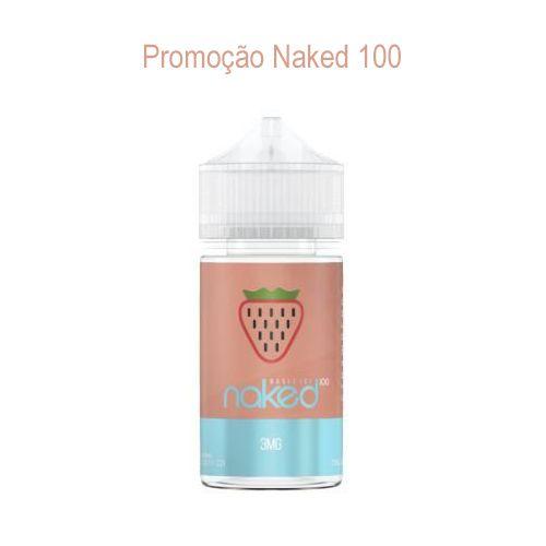 Promoção Líquido Naked 100 - Basic Ice - Strawberry