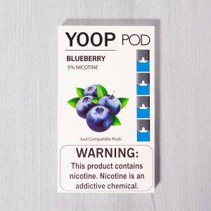 Yoop Pods Blueberry  - Compatíveis com Juul - Yoop Vapor
