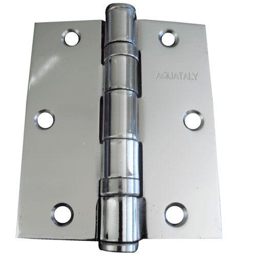 Dobradiça Para Porta Pesada 3x2.5 Cromado 3 Peças
