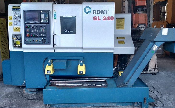 Torno CNC Romi GL240