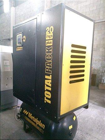 Compreensor Parafuro 20 Metalplan  Total Pack