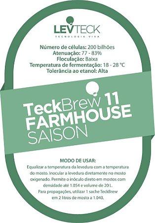 Fermento / Levedura TeckBrew 11 – FARMHOUSE SAISON