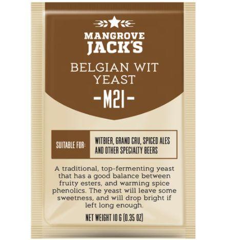 Fermento / Levedura Mangrove Jack´s - M21 Belgian Wit