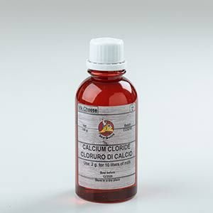Cloreto de Cálcio para Queijo 100ml