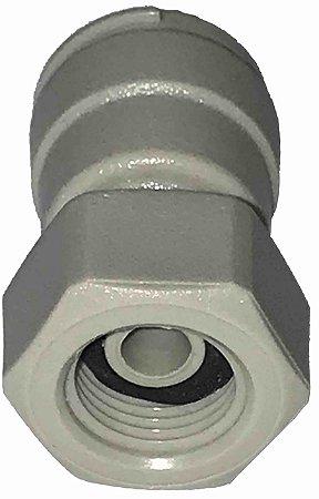 DMFit Conexao Rapida Tubo Adaptador  Femea Rosca 1/4 x 7/16 - AFAU047/16C