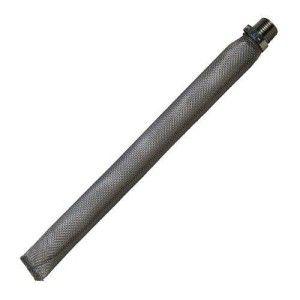 """Bazooka filtro de inox 12"""" BSP / rosca macho 1/2"""""""