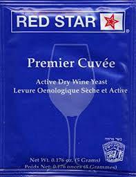 Fermento / Levedura Red Star - Premier Cuvee 0,05g